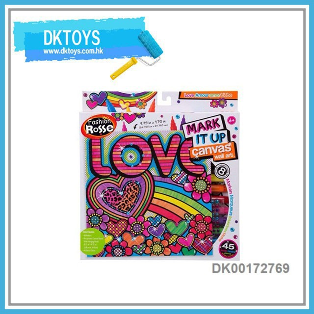 10'' DIY 2 in 1 Love Graphics Drawing Educational Toy