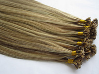 Best Quality Double Drawn Thick Bottom Factory Price Wholesale Russian U Nail Tip Hair Extention