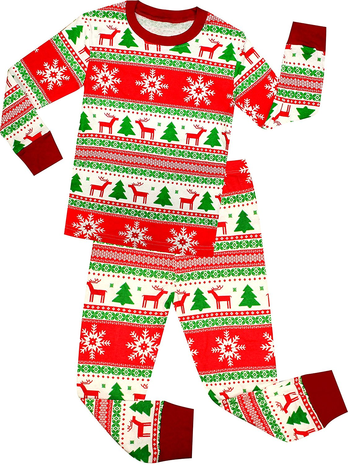 Get Quotations · shelry Boys Christmas Pajamas Children Cotton Clothes Kids  PJS Pants Set c67a492c0