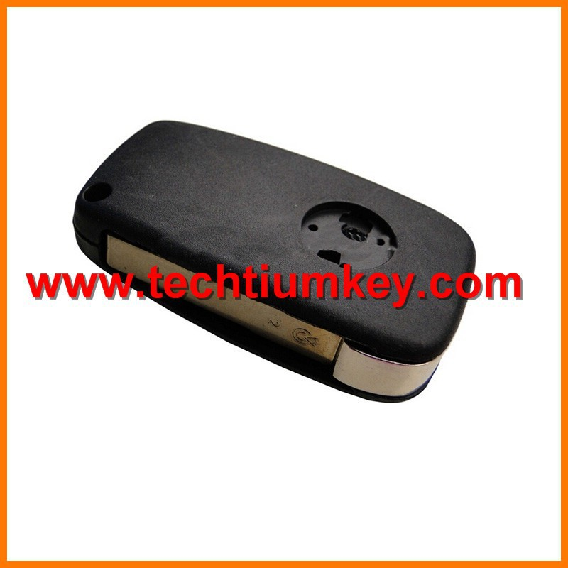 Good Plastic ABS remote key blank shell for Fiat remote key