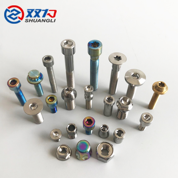 GR5 titanium screw CNC machined parts