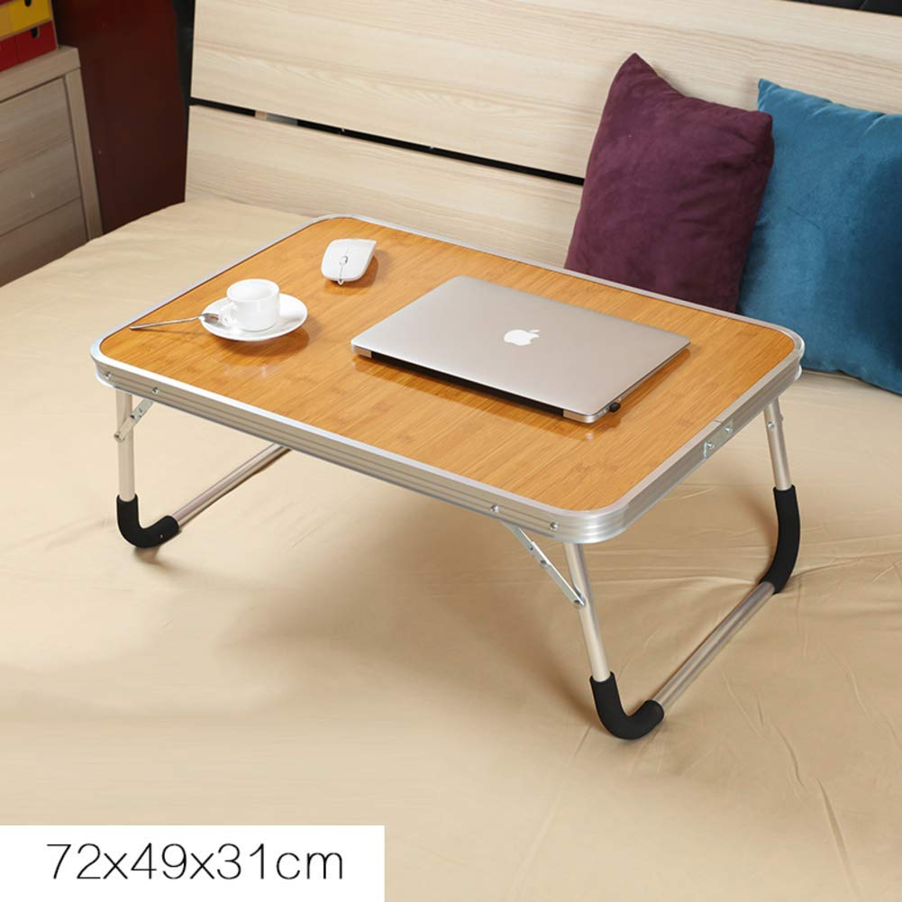 Mobile Laptop Computer Desk Cart,Portable Lap Desk Breakfast Tray for Sofa Couch Floor, Height Adjustable Tablet