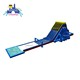 4 lane red blue inflatable big water slide/ commerical slide inflatable with water and pool/ hot sale durable hippo water slide