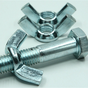 Industrial Fasteners DIN315 Butterfly Wing Nuts /butterfly bolt and nut