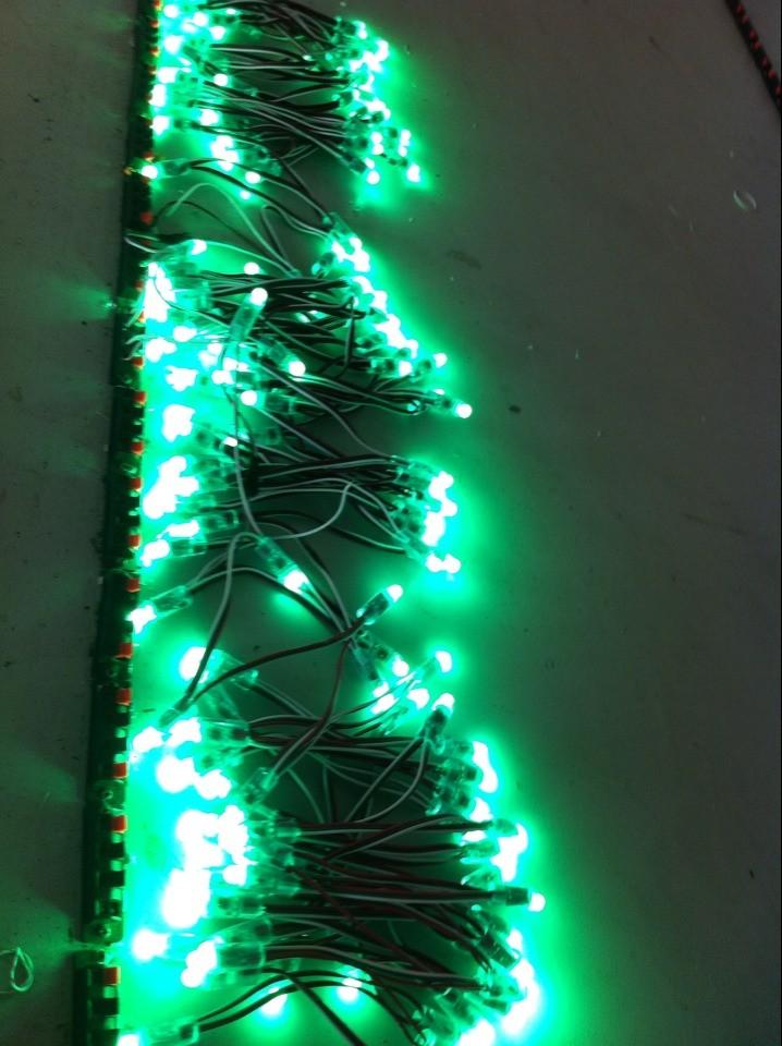 DC5/12V 120 degree 12mm Full color WS2811/1903/6803IC rgb pixel light for christmas