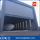 Large Pile Up Stacking Flexible Aircraft Hangar Door for Airport