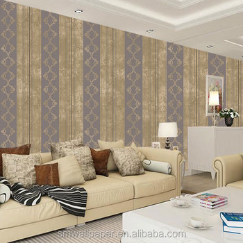 3d Stripe Wallpapers Cosmos Elegant Home Decor China Wallpaper Wholesale