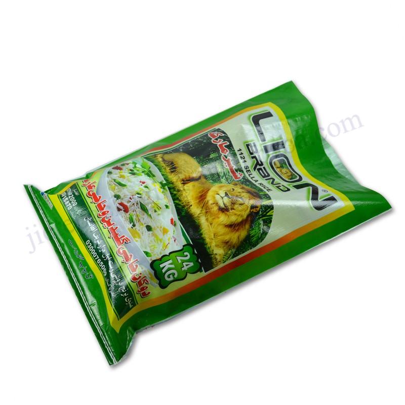 Polipropilen pp dokuma pirinç paketleme çantası 25kg için gübre, yem, fasulye, tohum