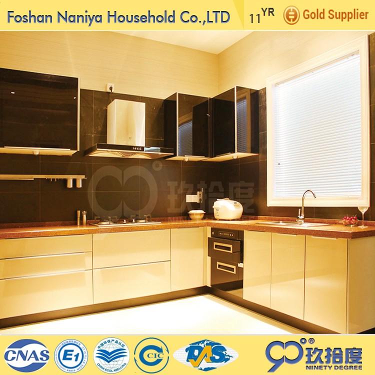 Precio Justo cocina diseños hoja con el material MDF para casas ...