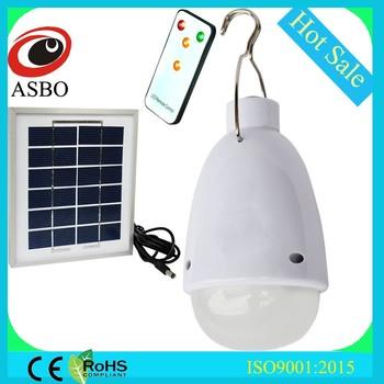 binnen buiten batterij oplaadbare led lamp mini zonne licht kit