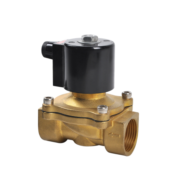 Covna 1//2 inch NPT DC 12V Stainless Steel Normally Closed(NC)NBR Air Gas Water Oil Steam Electric Solenoid Valve Hot Water Valve