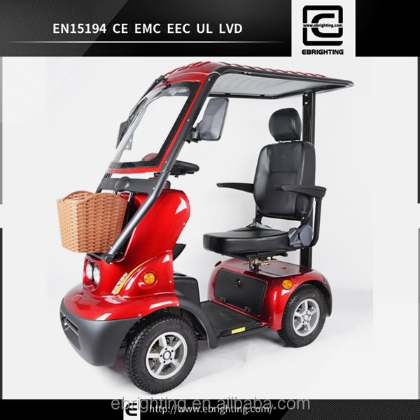 high quality small 36v battery golf cart with durable cargo box