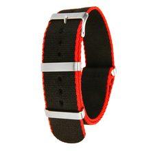 Модные нейлоновые наручные часы в стиле милитари, нейлоновые ремешки для часов, сменные ремешки для часов для мужчин и женщин, аксессуары дл...(Китай)