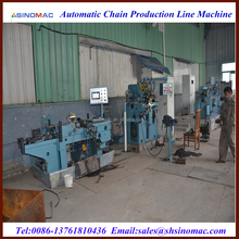 12mm Metal Link Chain Making Machine Prodcution Line Manufacturers