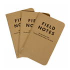 Custom High Quality Kraft Cover Field Notes