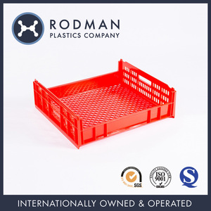 No. 2 Bread Crate Food Grade Custom HDPE Plastic Stackable Storage Bread Plastic Crate