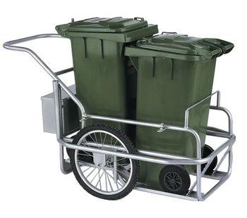 2 Trash Bin Trolley For Street Cleaning Buy Street