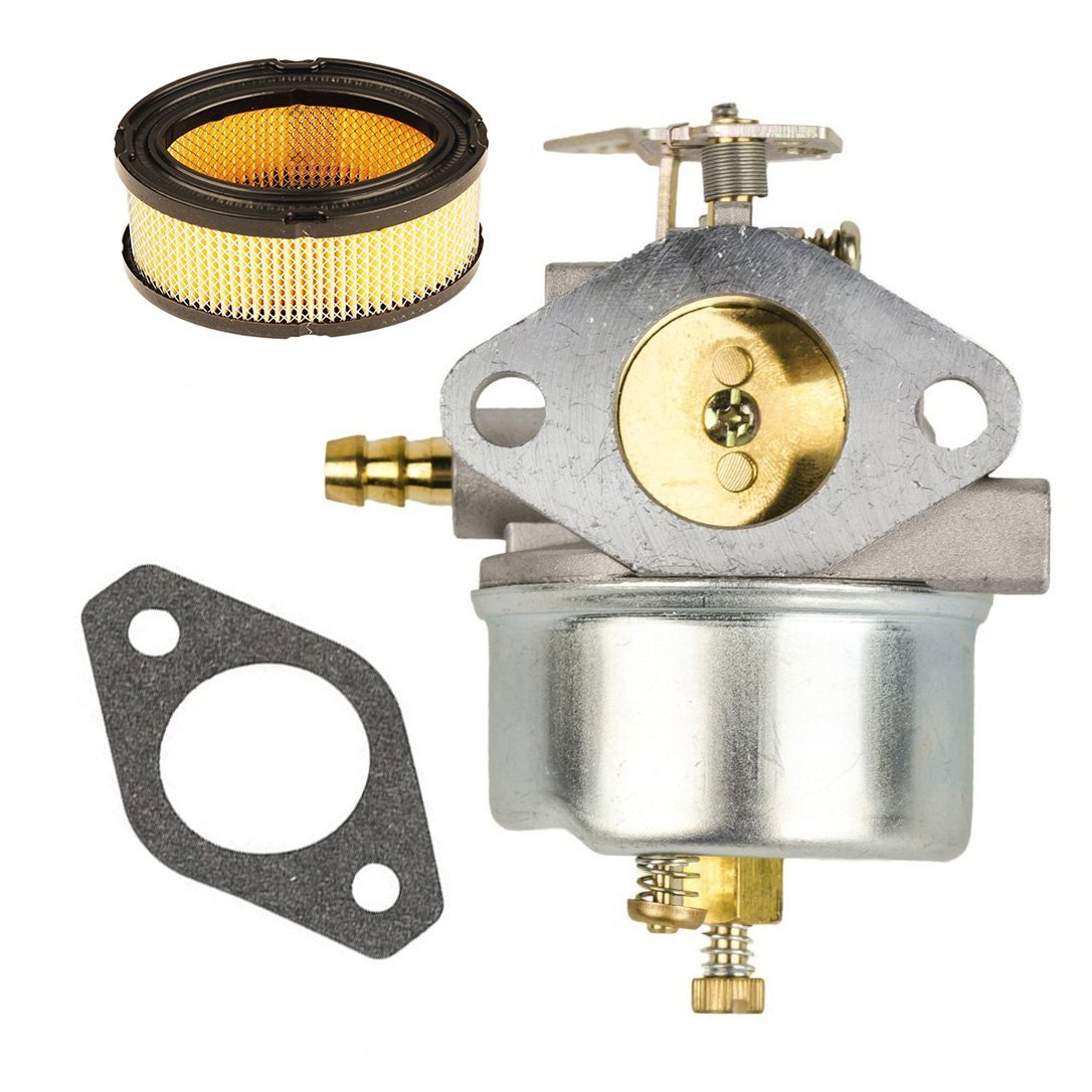 HIFROM Carburetor Carb Kit With 33268 Air Filter Gasket for Tecumseh HM70 HM80 HMSK80 HMSK90 Snow Blower Replace 632334 632334A