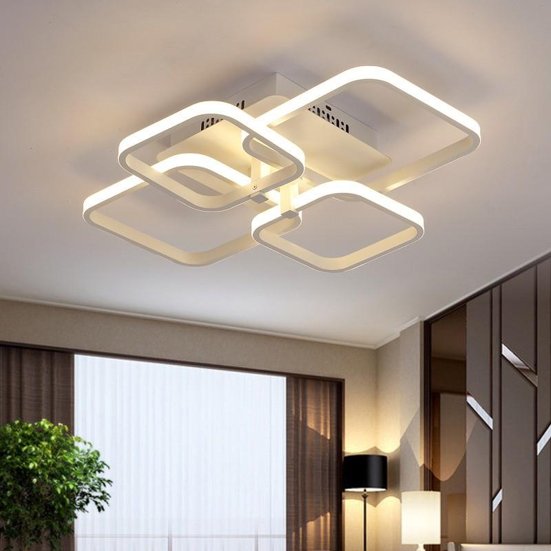 Rechthoek Acryl Plafondverlichting voor woonkamer slaapkamer Moderne ...