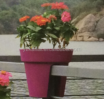 Plastic Tall Flower Pot Cheap Large Garden Pots