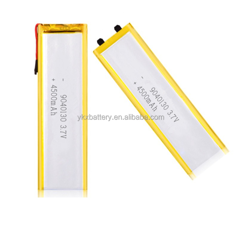 High capacity lithium ion battery 3.7v 4500mah 9040130 lipo battery for backup power