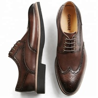 comfortable stylish handmade genuine leather summer ventilation dress shoes men casual