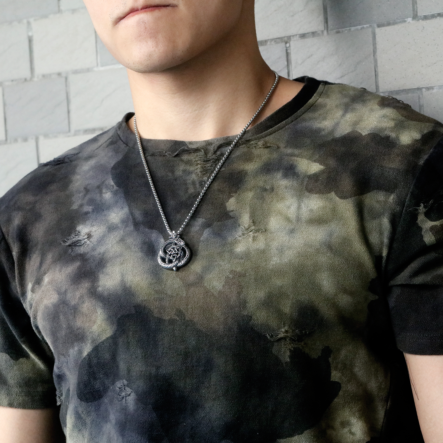 Customized High-Quality Stainless Steel Men Jewelry Necklace Pendant Unique