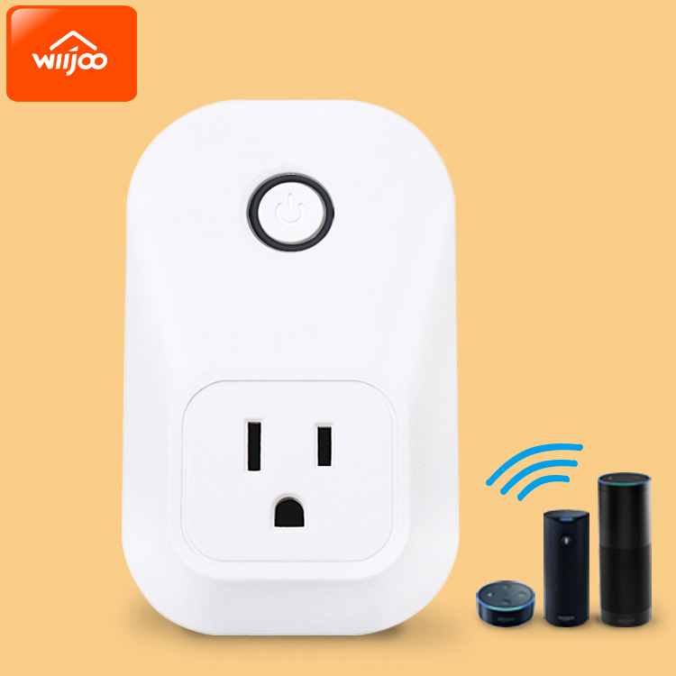 Alexa Supported Remote Control Smart Wifi Plug Socket