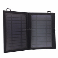 7W 5V PET panel Outdoor Black Monocrystalline silicon waterproof 1A Solar charger SL-350
