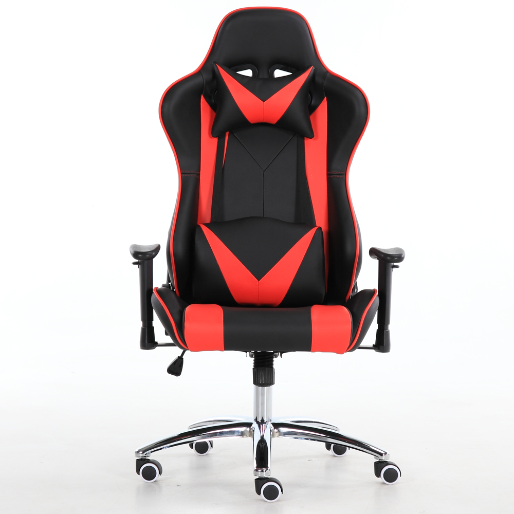 Outstanding Racing Car Style Gaming Chair With Thick Padded Bucket Seat And Flip Up Armrest For Home Office Video Game Room Buy Racing Office Chair Gaming Machost Co Dining Chair Design Ideas Machostcouk