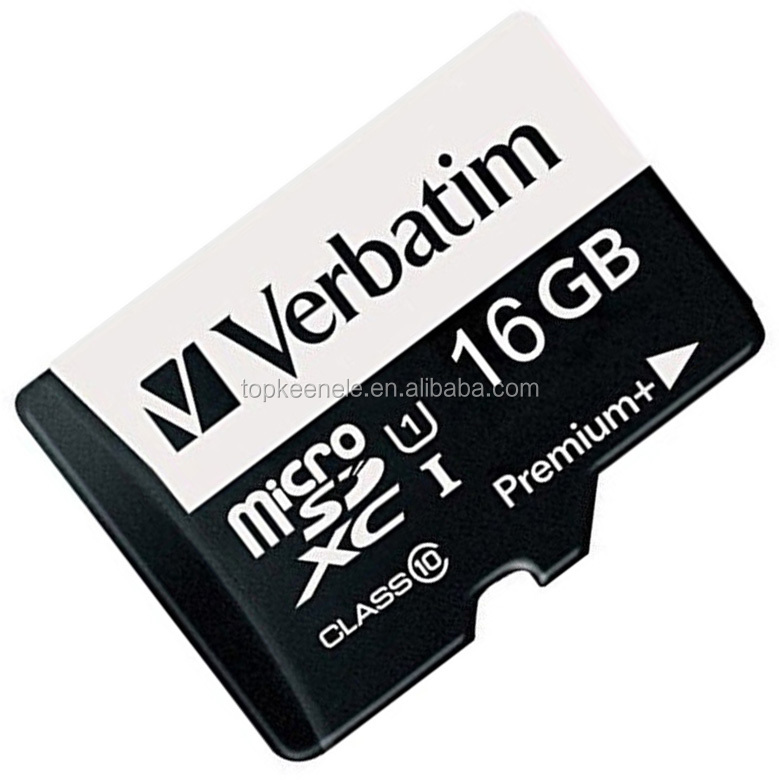 2019 excellent quality vertabim micro size sd memory card