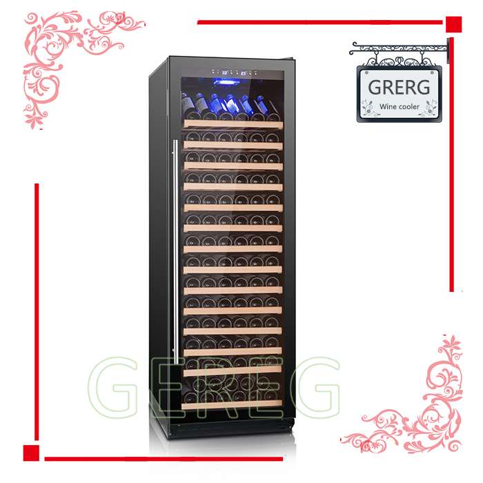 Compressor cooling modern wine cabinet wine cooler with 220 or 110V