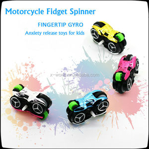 Advertising motorcycle game hand spinner ABS led hand spinner new design hand spinner