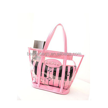 Promotion Zipper Waterproof Cheap Tote Plastic Beach Bag - Buy ... f8c94aed6dae