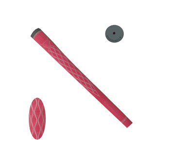 China manufacturer undersize TPE customized pink/white golf iron grips