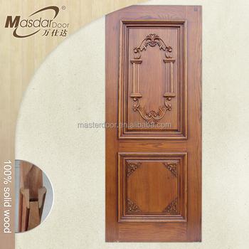 Burma solid teak wood main door models modern designs for Teak wood doors models