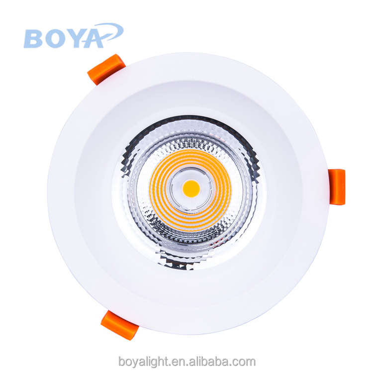 50W recessed round led downlight 24/40/60 bean angle available