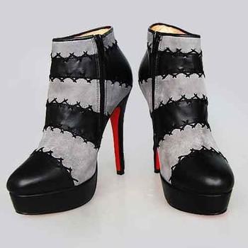 4ba1d6e9def Latest Fashion Luxury Designer Ladies Genuine Calf Leather Platform High  Heels Red Sole Branded Shoes