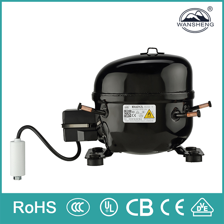 50Hz R600a LBP Electric Portable danfu compressor