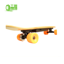 Mode Billig Smart Einzel Hub <span class=keywords><strong>Motor</strong></span> 350 Watt Elektrische Maple Longboard <span class=keywords><strong>Skateboard</strong></span>