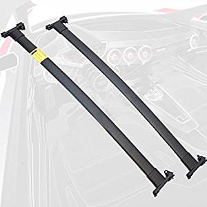 Get Quotations 11 14 Ford Explorer Roof Rack Cross Bars Set Bolt On Oem Factory Style