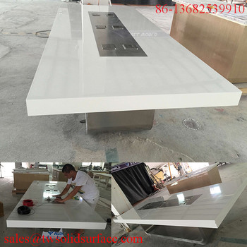 Meeting Room FurnitureMarble Top Office TopConference Room - Extra large conference table