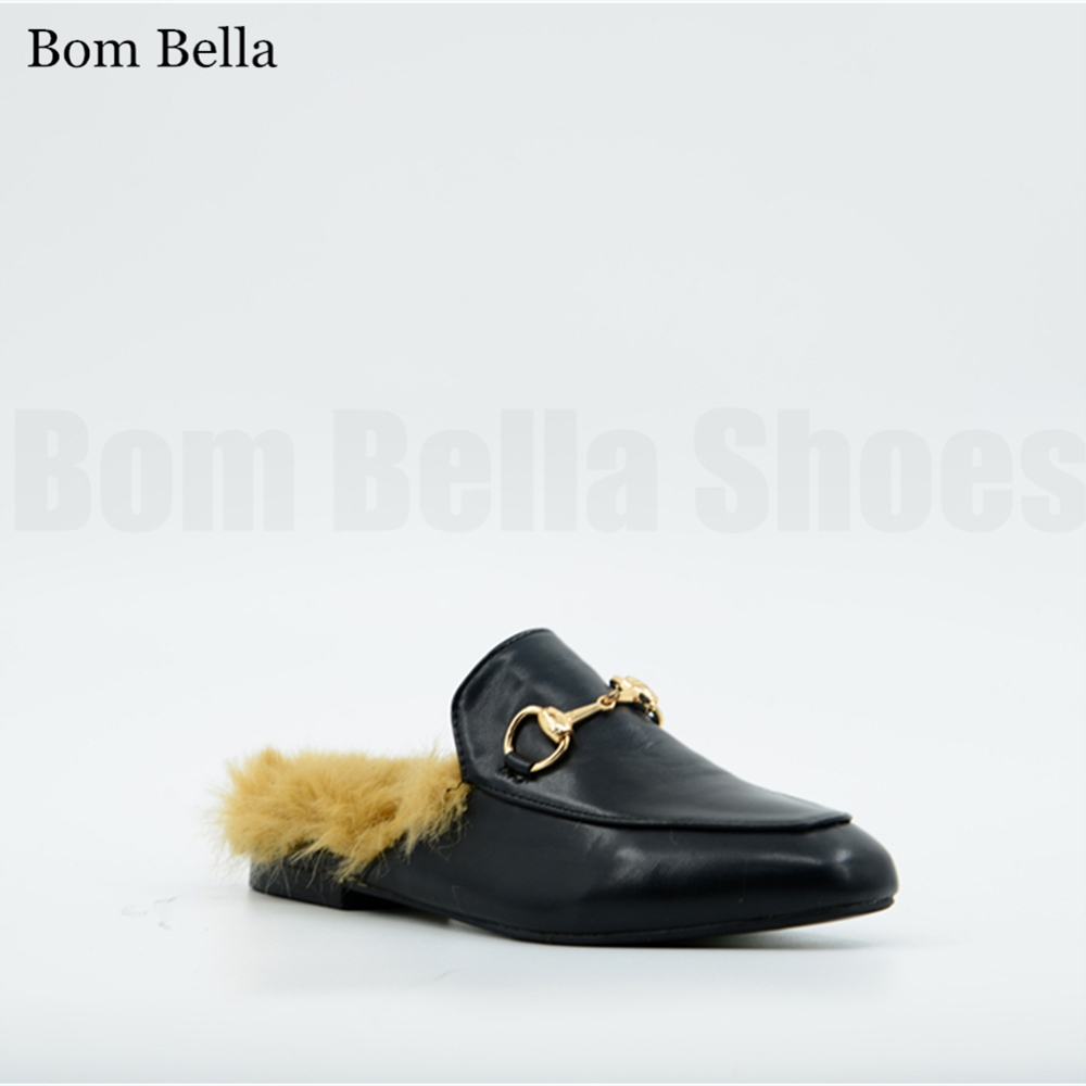 BBLA553 2018 hot sale women moccasins mules slippers in China