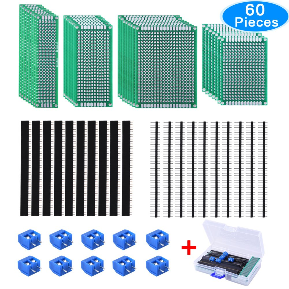 Cheap Flex Pcb Prototype Find Deals On Line At Prototypes Multi Circuit Boards Get Quotations Austor 30 Pcs Double Sided Board Kit 4 Sizes With 20