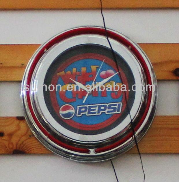 Neon Guitar Clock Neon Guitar Clock Suppliers and Manufacturers