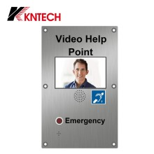 KNTECH VoIP Telephone with Built-in TFT LCD and Camera Commax Intercom Video Door Phone KNZD-60
