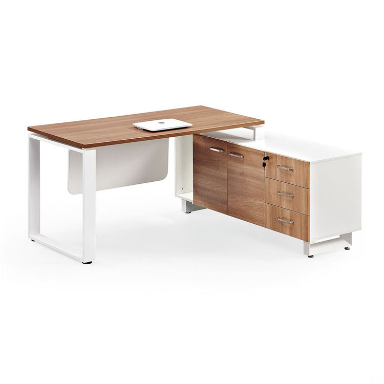 Office Desk With Cabinet Lockers