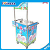 Candy Floss Machine_Electric Cotton Candy Machine Fairy Floss machine With Cart PINK Color