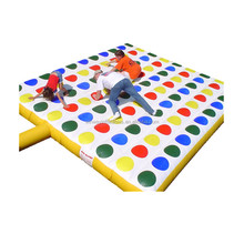 Inflatable twister game, outdoor game, entanglements W6008