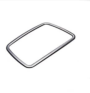 For BMW 5 Series F10 Vehicle Interior Ashtray Frame Cover Trim Steel Matte 2011-2015